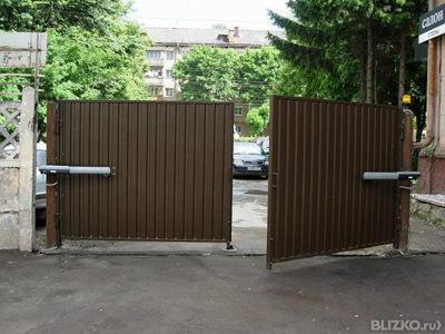 Ворота распашные купить где заказать ворота в улан удэ металлические