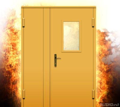 противопожарные двери металлические преимущества