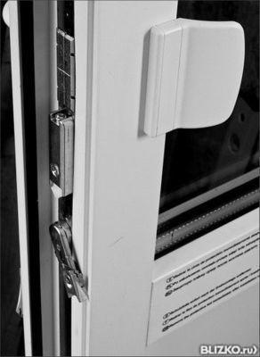 Защелка балконная магнитная кве 70/rehau 13 мм в нижнем новг.