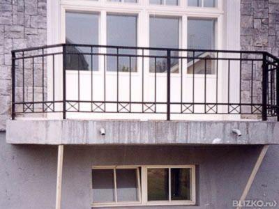 Купить сварные ограждения для балконов по ценам производител.