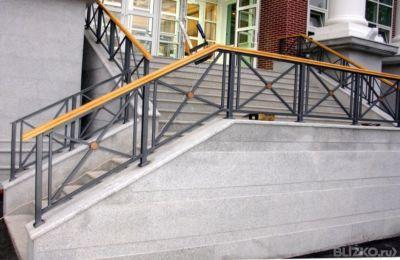 Балконные ограждения геометрия, вариант 17 от компании метал.