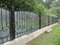 Купить забор в анапе ворота консольные картинки