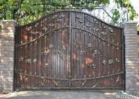 Ворота недорого в уфе разд видные автоматические ворота