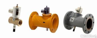 клапан запорный газовый кзга ду 50
