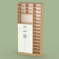 Полуоткрытый шкаф с ячейками для документов ШД21